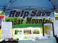 Save Cedar Mountain at the Newington Extravaganza